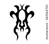 tribal tattoo vector design... | Shutterstock .eps vector #364563701