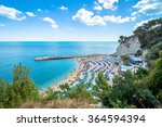 sirolo  italy   august 17  2016 ... | Shutterstock . vector #364594394