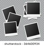 collection of vector blank... | Shutterstock .eps vector #364600934
