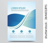 flyer  brochure  poster  annual ...   Shutterstock .eps vector #364601891