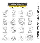 business management  corporate... | Shutterstock .eps vector #364606967