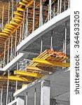 floor beam on building... | Shutterstock . vector #364633205
