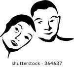 happy couple | Shutterstock . vector #364637
