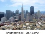 view from coit tower in san... | Shutterstock . vector #3646390