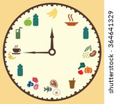 vector illustration   meals... | Shutterstock .eps vector #364641329