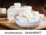 fresh feta cheese  detailed... | Shutterstock . vector #364648697