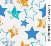 vector stars geometric seamless ...   Shutterstock .eps vector #364653341