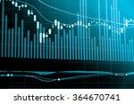 Постер, плакат: Financial data on a
