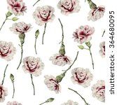 seamless floral pattern with... | Shutterstock . vector #364680095