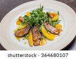 duck breast with orange | Shutterstock . vector #364680107