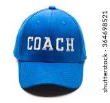 Blue Baseball Cap With Coach...