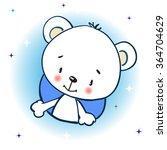 white bear  | Shutterstock .eps vector #364704629