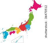 Color Map Of The Provinces Of...