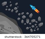the asteroid belt and the... | Shutterstock .eps vector #364705271