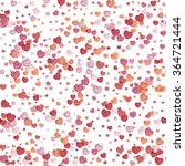 hearts seamless background.... | Shutterstock .eps vector #364721444