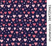 cute simple seamless pattern... | Shutterstock .eps vector #364725461