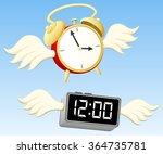 """vector illustration of """"time...   Shutterstock .eps vector #364735781"""