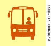 bus icon. schoolbus simbol. | Shutterstock .eps vector #364745999