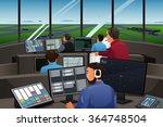 a vector illustration of air... | Shutterstock .eps vector #364748504