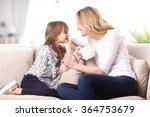 portrait of adorable little... | Shutterstock . vector #364753679