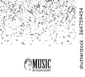 abstract music background.... | Shutterstock .eps vector #364759454