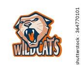 retro style sport wildcat... | Shutterstock .eps vector #364770101