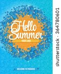 hello summer abstract... | Shutterstock .eps vector #364780601