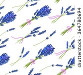 seamless pattern with hand... | Shutterstock .eps vector #364780694
