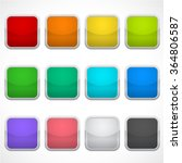 set of blank square icons in...   Shutterstock .eps vector #364806587
