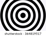 circle black and white gradient ... | Shutterstock . vector #364819517