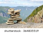 Inukshuk On Top Of The Haute...
