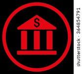 bank building vector icon.... | Shutterstock .eps vector #364854791