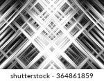 abstract grey fractal... | Shutterstock . vector #364861859