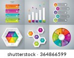 infographic design template can ... | Shutterstock .eps vector #364866599
