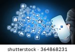 smartphone interface application | Shutterstock . vector #364868231