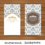 vintage card design for... | Shutterstock .eps vector #364869494