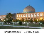 sheikh lotfollah mosque at... | Shutterstock . vector #364875131