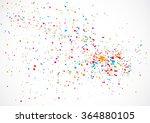 abstract color splash... | Shutterstock .eps vector #364880105