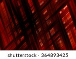 abstract red fractal background ... | Shutterstock . vector #364893425