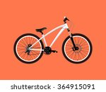 sport white bicycle | Shutterstock .eps vector #364915091