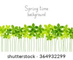 Green Floral Border For Your...