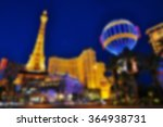 Stock photo blurred background of las vegas strip nevada usa 364938731