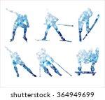 winter sports | Shutterstock .eps vector #364949699