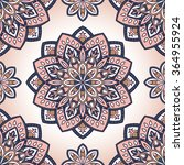 vector seamless pattern with... | Shutterstock .eps vector #364955924