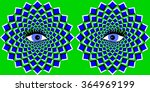 the optical illusion of... | Shutterstock . vector #364969199