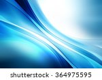 abstract light motion wave blue ... | Shutterstock . vector #364975595