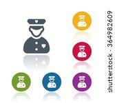 policeman icon | Shutterstock .eps vector #364982609