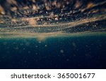abstract underwater background... | Shutterstock . vector #365001677