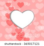 greeting card with abstract... | Shutterstock .eps vector #365017121