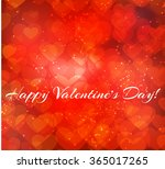 greeting card with abstract... | Shutterstock .eps vector #365017265
